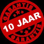 10 jaar garantie